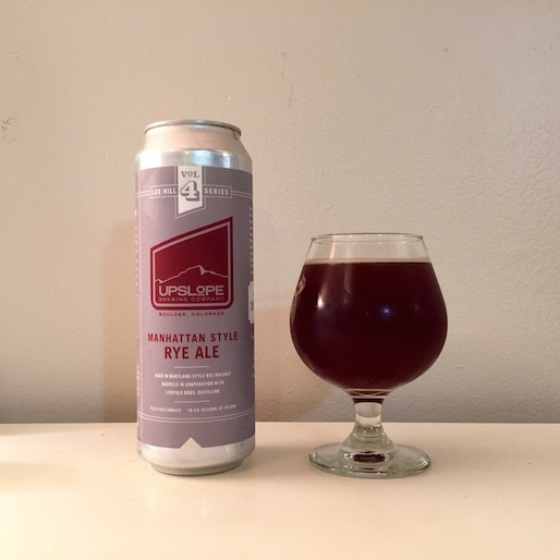 Upslope Brewing Manhattan-Style Ale Review