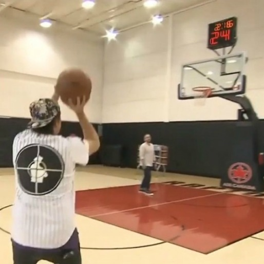 Watch Win Butler's 3-Point Shootout With Toronto Raptors' Amir Johnson