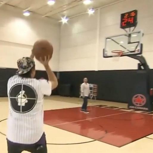 Watch Win Butler's 3-Point Shootout With Toronto Raptors' Amir Johnson