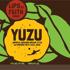 New Belgium Yuzu Imperial Berliner Weisse Review