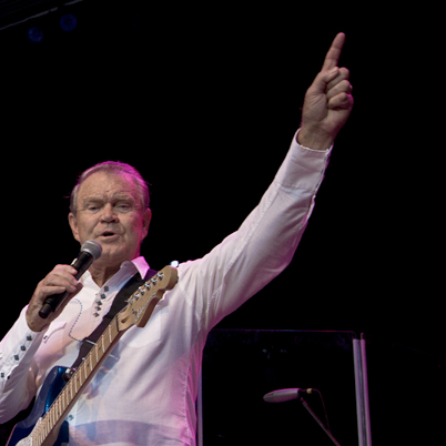 Kenny Rogers, Glen Campbell Photos - Atlanta, Ga.