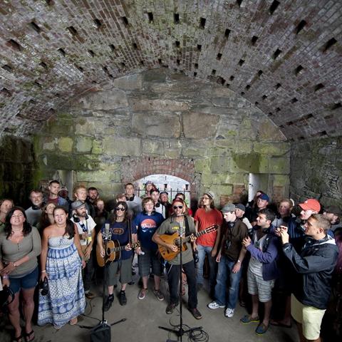 Newport Folk Festival Photos: Live at the Paste Ruins