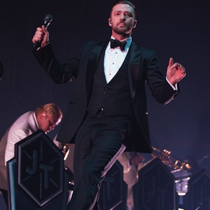 Photos + Review: Justin Timberlake - Anaheim, Calif.