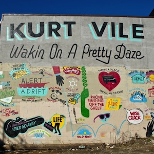 Photos: Steve Powers' Kurt Vile <i>Wakin On A Pretty Daze</i> Mural