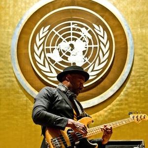 Photos: Marcus Miller - &quot;Forever Free: Celebrating Emancipation&quot; at the United Nations