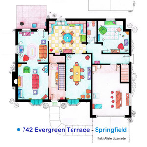 Artist Sketches the Floor Plans of Popular TV Homes