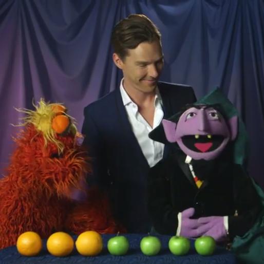 Benedict Cumberbatch Visits <i>Sesame Street</i>