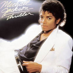 Capa do CD Michael Jackson - Thriller