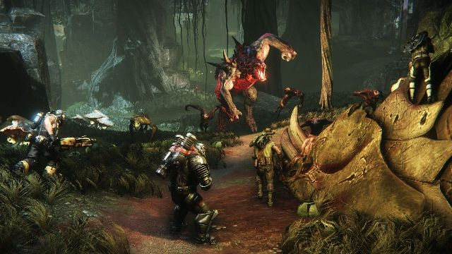 2015 list evolve.jpg. Another multiplayer shooter where you fight aliens?