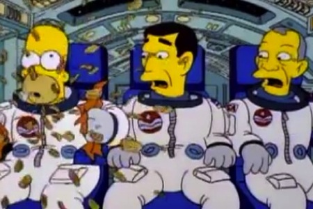 the simpsons astronaut - photo #8