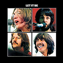 Pics For > Let It Be Album Cover