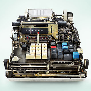 A Look Inside Antique Mechanical Calculators
