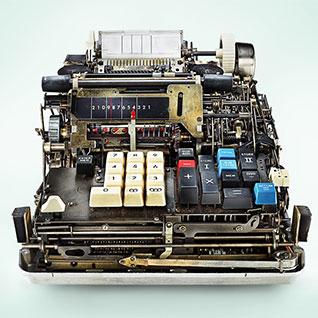 A Look Inside Antique Mechanical Calculators