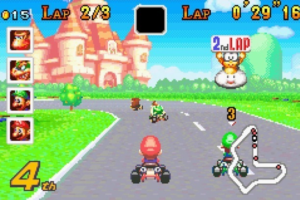 play super mario kart online