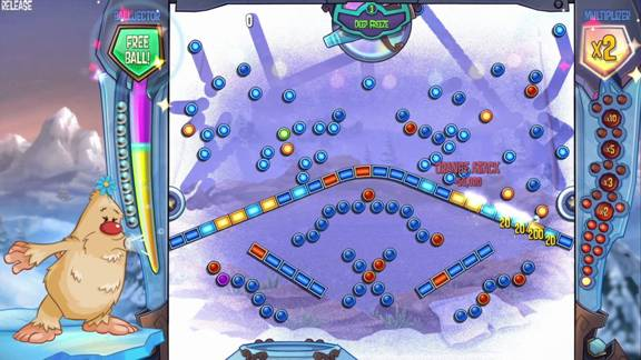 how to play peggle 2 with kinect