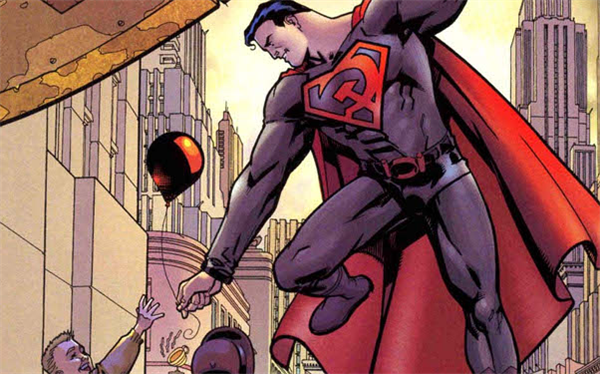 Russian Superman Red Son Superman Red Son