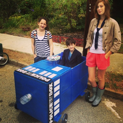 My Doctor Who Tardis Soapbox Car