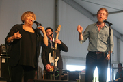 Mavis Staples and Glen Hansard
