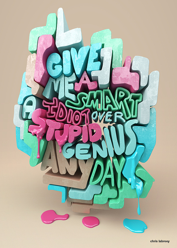 U.K. Designer's 3D Project Makes Samuel Goldwyn Quotes Drip, Shine