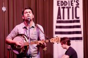 Seryn performs at Eddie's Attic.