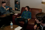 Sea Wolf hangs out in the green room at Lincoln Hall in Chicago, Ill.
