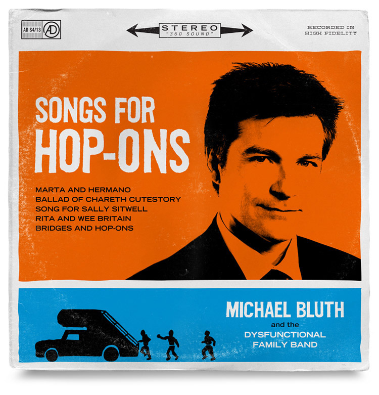 Designer Creates <i>Arrested Development</i> Record Sleeves