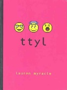 <i>ttyl</i> (Series) Reasons for Challenge: Offensive language, religious viewpoint, sexually explicit and unsuited to age group