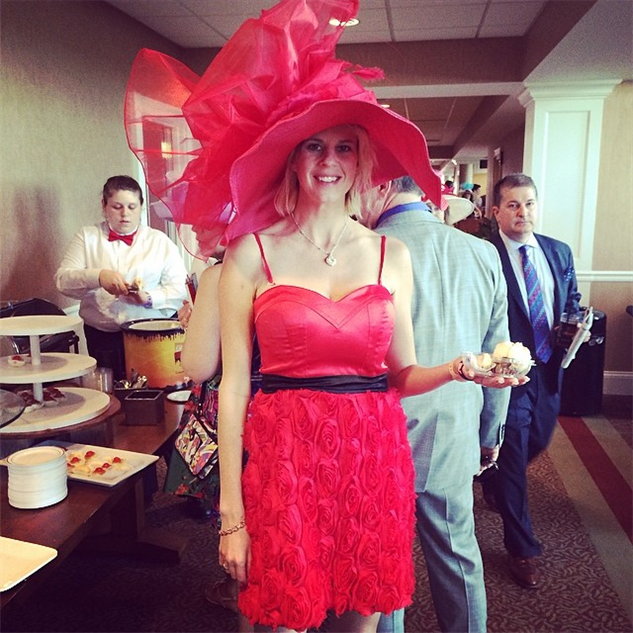 best-of-derby-hats derby-hat---kentuckyderby--derby--derbyhat--red--rose--roses