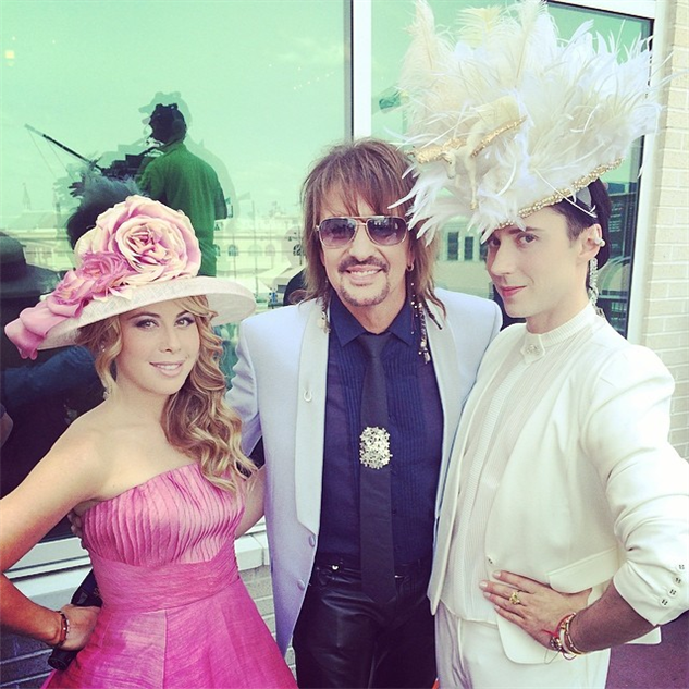 best-of-derby-hats me-and-my-munchkin--taralipinski-with-the-legendary-richie-s