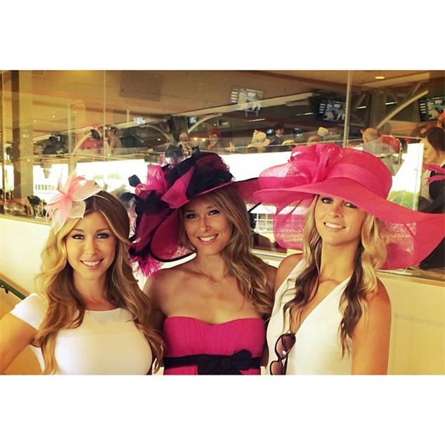 best-of-derby-hats oaks-day-today-with-my-girls--morganebeck--corinnesolomon--d