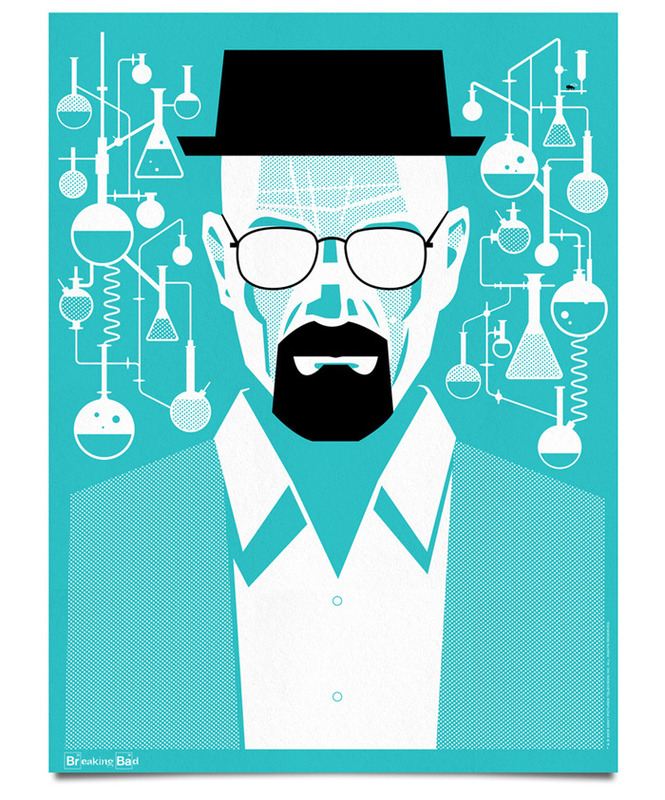 Limited Edition <i>Breaking Bad</i> Poster Series Depicts Transformation of Walter White