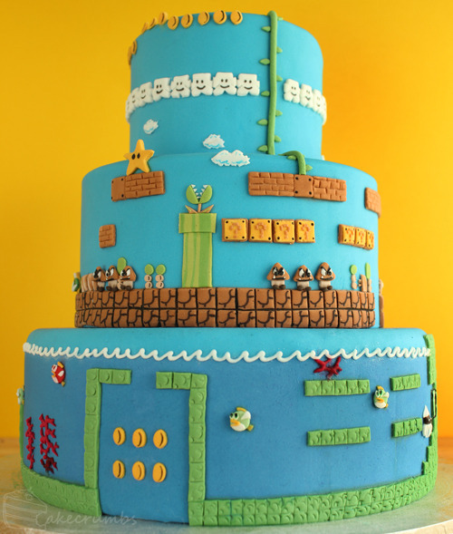 <i>Super Mario Bros.</i>, <i>Legend of Zelda</i> Fan Art Cakes