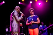 Will Downing and Regina Bell