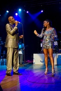 Will Downing and Chante Moore