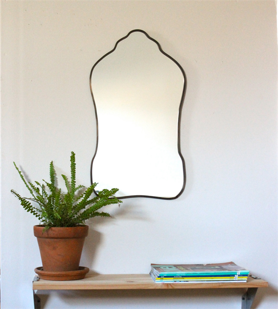 Mirrors as picturesque as your own reflection design for Miroir ung drill
