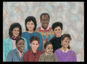 The Huxtables Improved once more, inspired by The Cosby Show