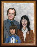 The Torrances, inspired by The Shining