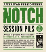Notch Session Pils, Notch Brewing, Ipswich, Mass.