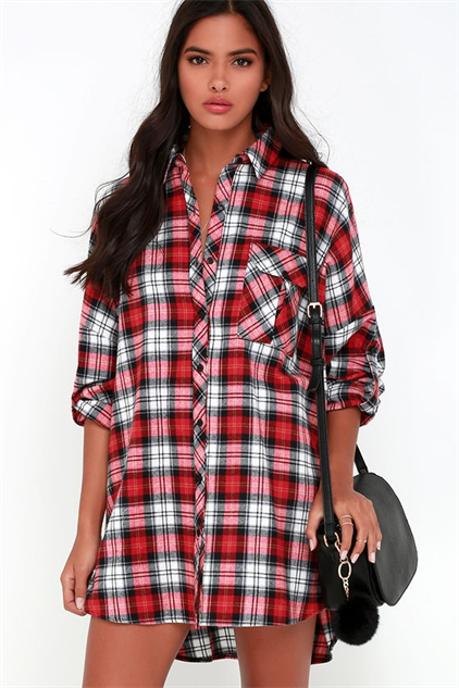 Comfy Stylish Flannel Dresses Style Galleries Paste