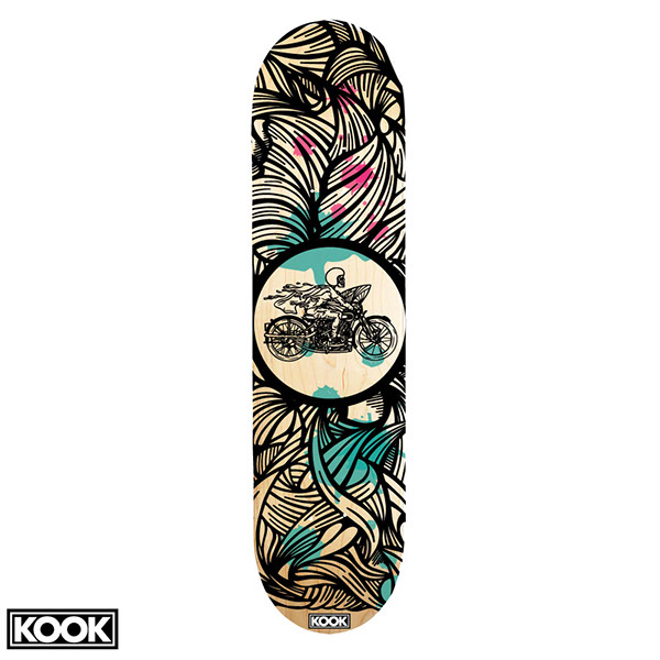 25 of the best skateboard deck designs design