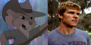 Ryan Kwanten has everything you need to play Jake (<i>Rescuers Down Under</i>): a cute face, an Aussie accent, and an attitude.