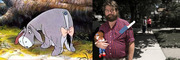 Zach Galifianakis as Eeyore (<i>Pooh</i>)? Wouldn't be the first time he made a (loveable) ass of himself. Wink.