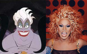 The crazy hair. The over-done make-up. The manly voice. RuPaul would make a great Sea Witch (<i>The Little Mermaid</i>).