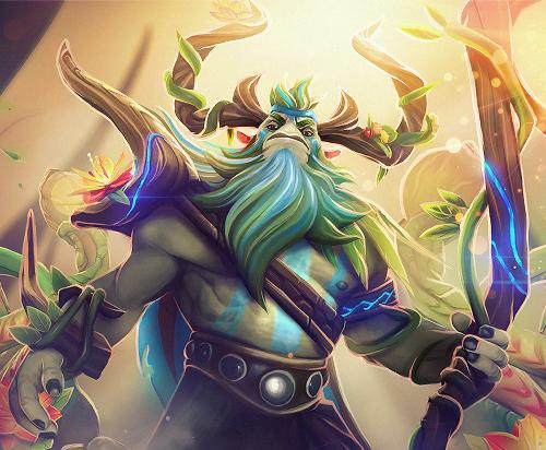 Dota 2 wallpaper natures prophet dota 2 wallpap