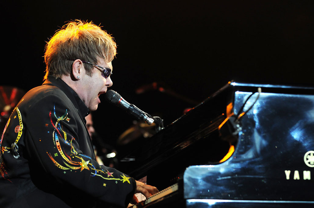 Elton John and Leon Russell Photos - Tulsa, OK