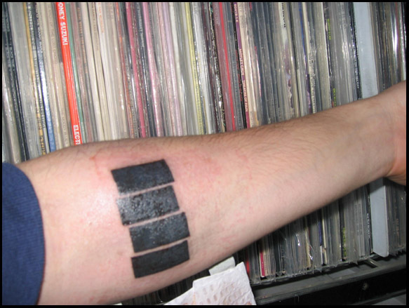 34 of Our Favorite Band Tattoos :: Music :: Galleries :: Paste Bullet Band Tattoo