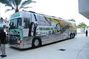 Flaming Lips Tour Bus