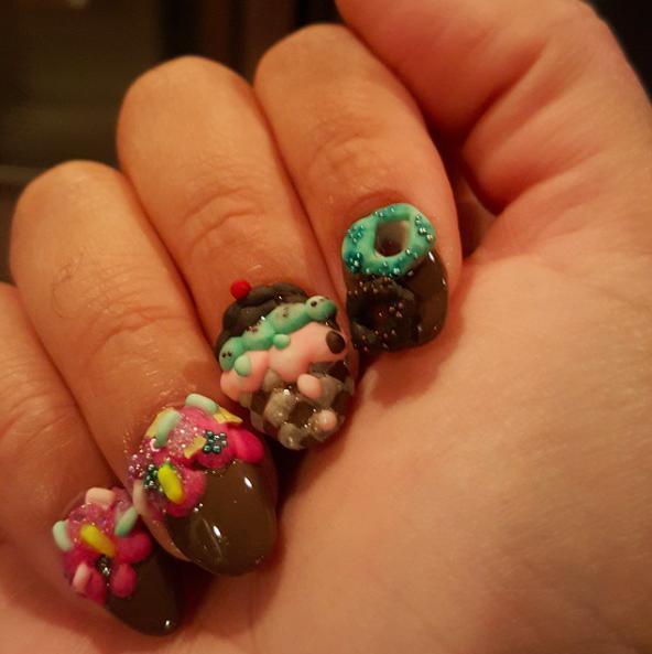 Fashion Meets Food: Nail Art :: Food :: Galleries :: Paste