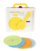 "<a href=""http://www.urbanoutfitters.com/urban/catalog/productdetail.jsp?id=19016799&itemdescription=true&navAction=jump&search=true&isProduct=true&parentid=SEARCH+RESULTS"">Fisher Price Record Player (Urban Outfitters, $40)</a>"