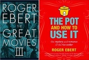 "<a href=""http://www.amazon.com/Great-Movies-III-Roger-Ebert/dp/0226182088/ref=ntt_at_ep_dpi_2"">Two</a> very different <a href=""http://www.amazon.com/Pot-How-Use-Mystery-Romance/dp/0740791427/ref=ntt_at_ep_dpi_1"">books</a> by Roger Ebert (Amazon, $9.48-$19"